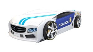 Кровать-машина МАНГО «Полиция 2»