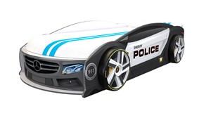 Кровать-машина МАНГО «Полиция»