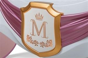 """Фамильный герб для кровати-кареты """"Рапунцель"""""""