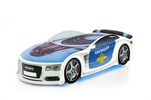 """Кровать-машина UNO """"Ауди А6 Полиция"""""""