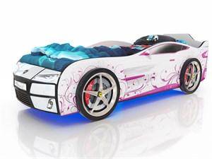 Кровать-машина Kiddy Розовая Лоза