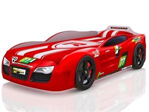 Кровать-машина Renner 2 Красная