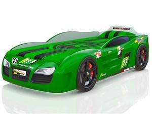 Кровать-машина Renner 2 Зеленая