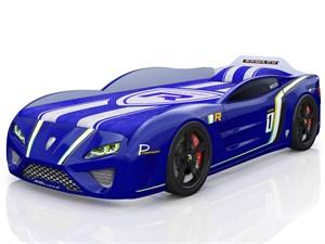 Кровать-машина «SportLine» синяя